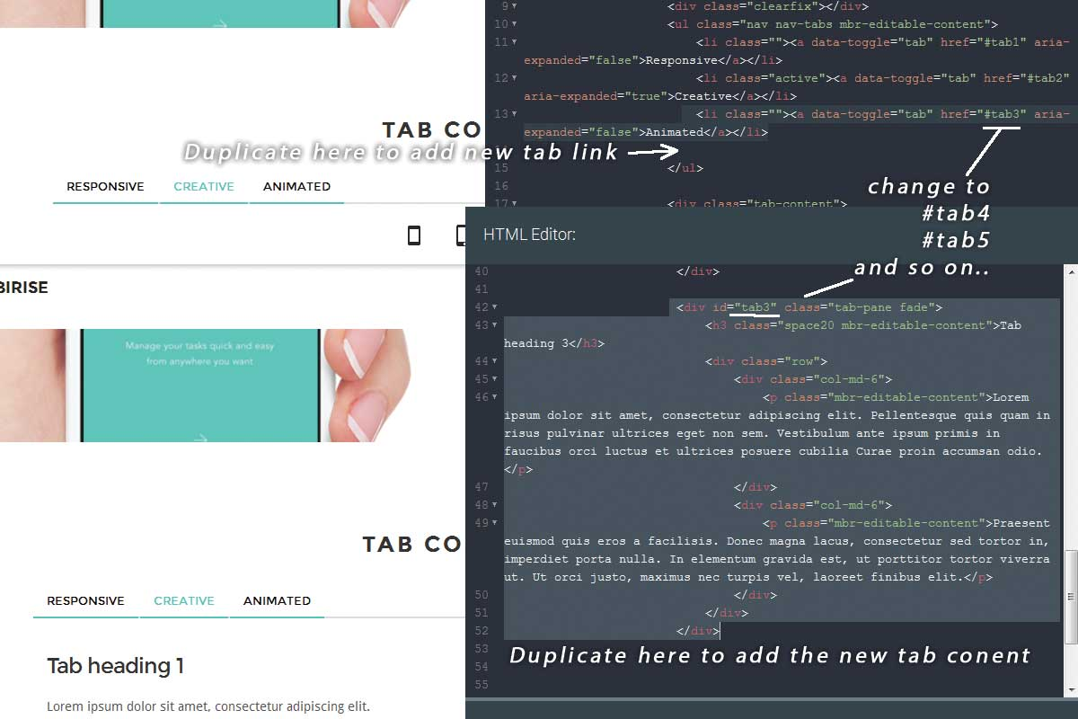 Free Bootstrap Agency Theme Creator
