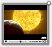 Html Image Overlay Video Video Gallery Using Jquery