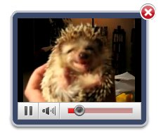 attach video as background of html file Jquery Video Gallery