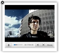 Website Sample With Video Page Jquery Video Flv Gallery