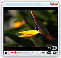 Code To Play Video Within Flash Player Jquery Video Plugin Youtube